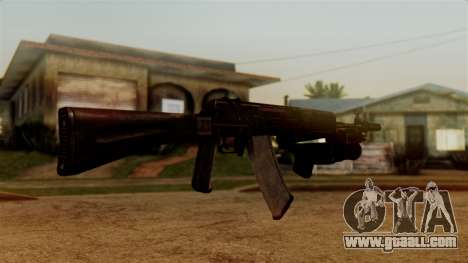 An-94 Abakan for GTA San Andreas third screenshot