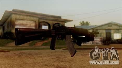 An-94 Abakan for GTA San Andreas third screenshot