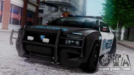 Hunter Citizen Police LV IVF for GTA San Andreas
