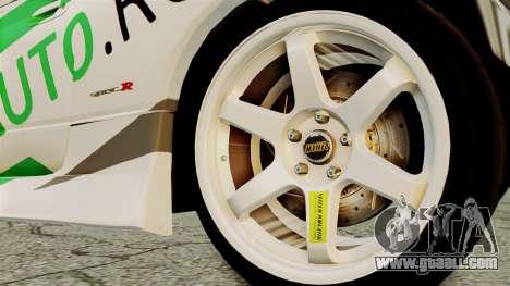 Nissan Silvia S15 24AUTORU for GTA San Andreas back left view
