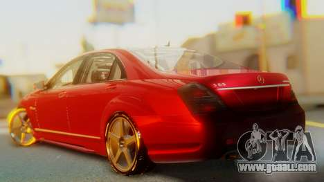 Mercedes-Benz S65 for GTA San Andreas left view