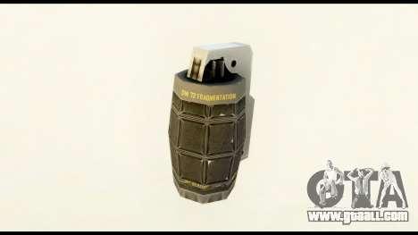 Grenade from Crysis 2 for GTA San Andreas second screenshot