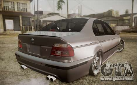 BMW M5 E39 E-Design for GTA San Andreas left view