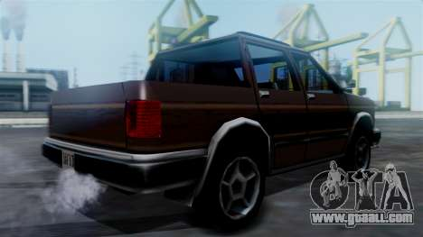 Landstalker Pickup for GTA San Andreas left view