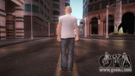 dnb1 Skin in Snowboard T-Shirt for GTA San Andreas third screenshot