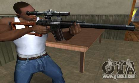 Old Sniper for GTA San Andreas second screenshot