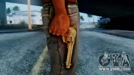 Red Dead Redemption Revolver for GTA San Andreas third screenshot