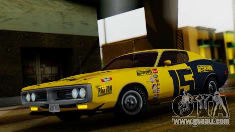 Dodge Charger Super Bee 426 Hemi (WS23) 1971 for GTA San Andreas upper view