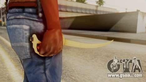 Red Dead Redemption Katana Assasin for GTA San Andreas second screenshot