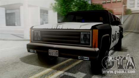 Alternative FBI Rancher for GTA San Andreas