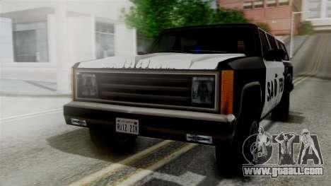 Alternative FBI Rancher for GTA San Andreas