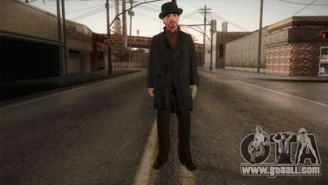 Sherlock Holmes v1 for GTA San Andreas second screenshot