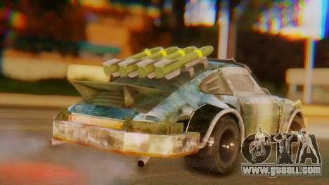 Porsche 911 Death Race for GTA San Andreas left view