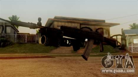 An-94 Abakan for GTA San Andreas second screenshot