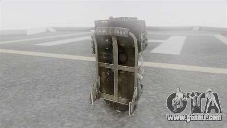 Ghostbuster Rucksack for GTA San Andreas second screenshot