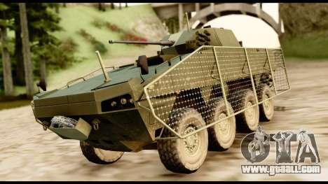 KTO Rosomak M1M for GTA San Andreas