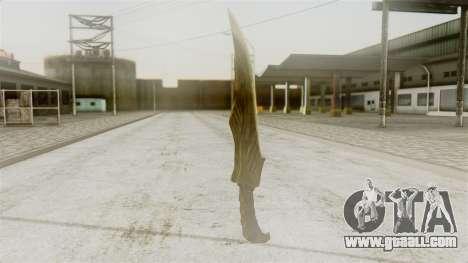 Elven Dagger for GTA San Andreas second screenshot