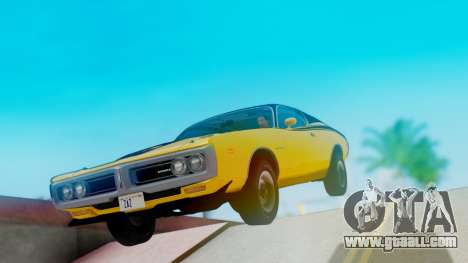 Dodge Charger Super Bee 426 Hemi (WS23) 1971 for GTA San Andreas right view