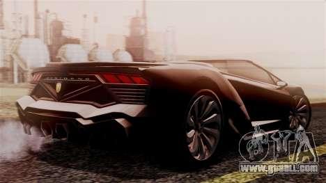 Pegassi Zentorno Cabrio v2 for GTA San Andreas left view
