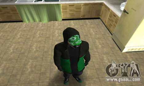 Fam White for GTA San Andreas second screenshot
