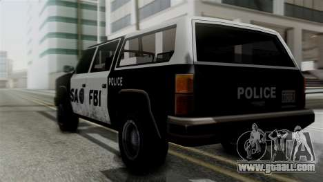 Alternative FBI Rancher for GTA San Andreas left view