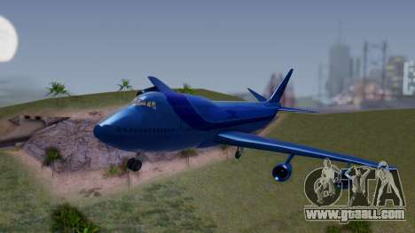 AT-400 Argentina Airlines for GTA San Andreas back view