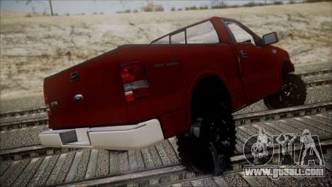 Ford F-150 2005 Single Cab for GTA San Andreas left view