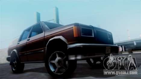 Landstalker Pickup for GTA San Andreas