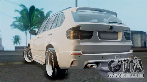 BMW X5M 2014 E-Tuning for GTA San Andreas left view