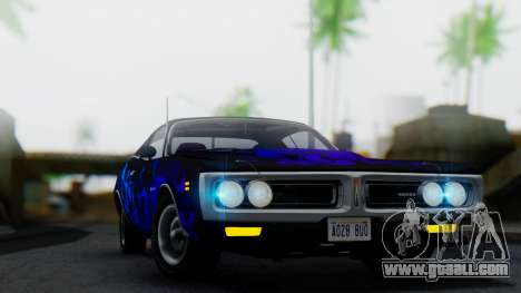 Dodge Charger Super Bee 426 Hemi (WS23) 1971 for GTA San Andreas side view