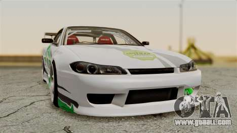 Nissan Silvia S15 24AUTORU for GTA San Andreas back view