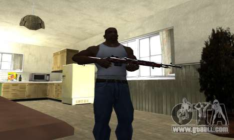 Snake Rifle for GTA San Andreas third screenshot