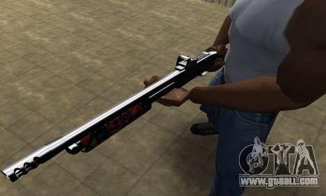 National Shotgun for GTA San Andreas second screenshot