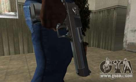 Desert Eagle for GTA San Andreas second screenshot