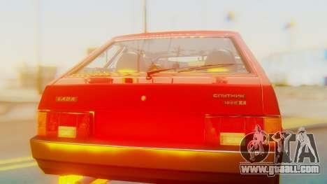 2109 Stoke for GTA San Andreas inner view