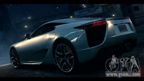 Lexus LF-A 2010 EPM for GTA 4 left view