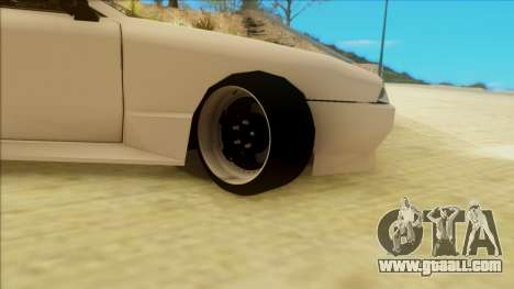 Elegy by PROFF for GTA San Andreas back left view