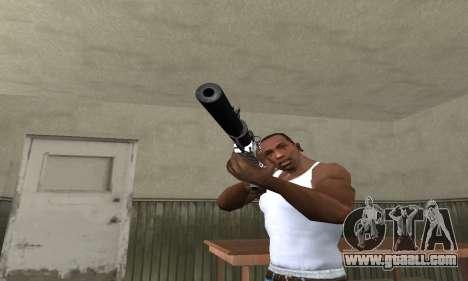 Black Lines Rifle for GTA San Andreas second screenshot
