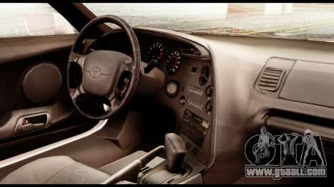 Toyota Supra Full Tuning v2 for GTA San Andreas right view