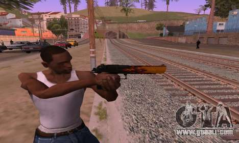 Deagle Flame for GTA San Andreas