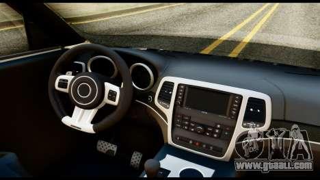 Infiniti QX56 Final for GTA San Andreas right view