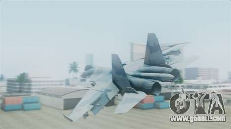 Sukhoi SU-33 Flanker-D for GTA San Andreas left view