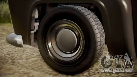 GTA 5 Vapid Slamvan Pickup IVF for GTA San Andreas back left view