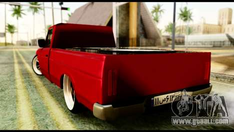 Nissan Junior Tuned for GTA San Andreas left view