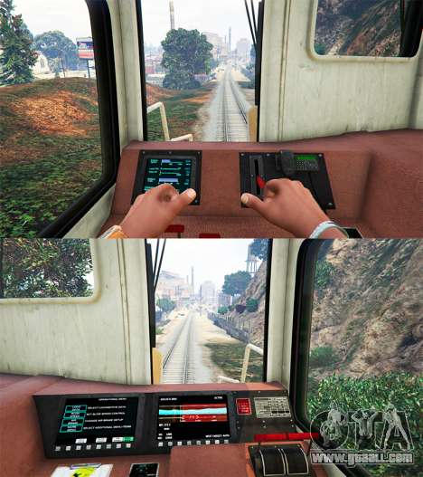 GTA 5 Engineer railway v3.1 third screenshot