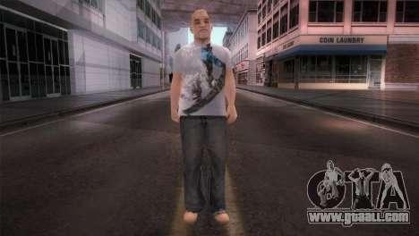 dnb1 Skin in Snowboard T-Shirt for GTA San Andreas second screenshot