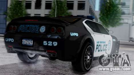 Hunter Citizen Police LV IVF for GTA San Andreas left view