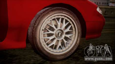 Mazda MX-6 (GE5S) for GTA San Andreas back view