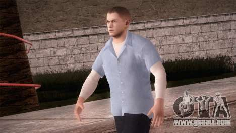 Michael Scofield Prison form for GTA San Andreas