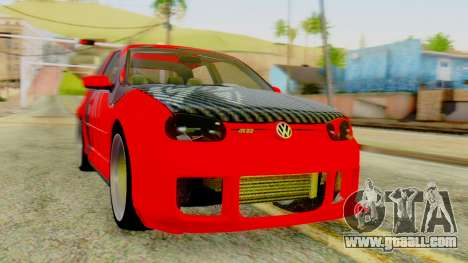 Volkswagen Golf R32 Edition Tribal for GTA San Andreas